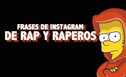 Frases de Instagram de rap y raperos