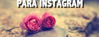 Frases romanticas Instagram